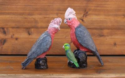 De vogeltjes van brons