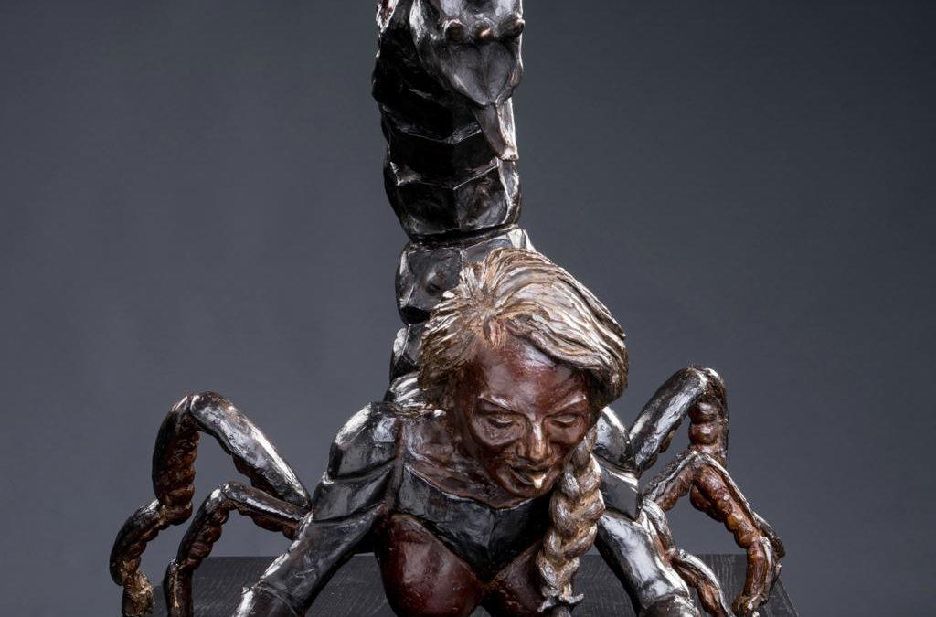 Scorpion Woman (Brons)